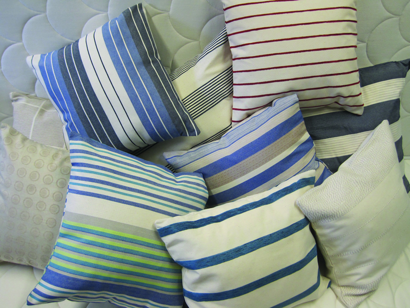 Cushions for your yacht from Marine Bedding