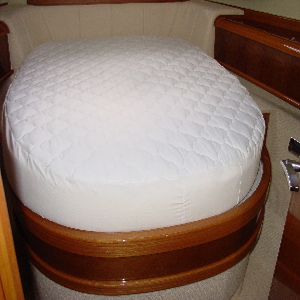 Custom made mattress protectors for your yacht