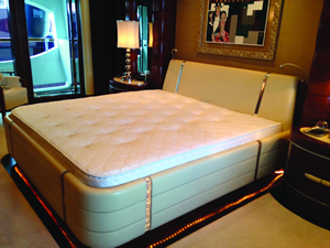 Custom made mattresses for your caravan and motorhome - click for more information
