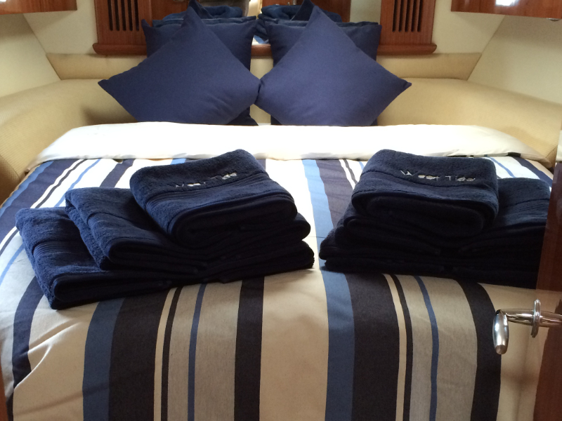 Towels for your yacht from Marine Bedding