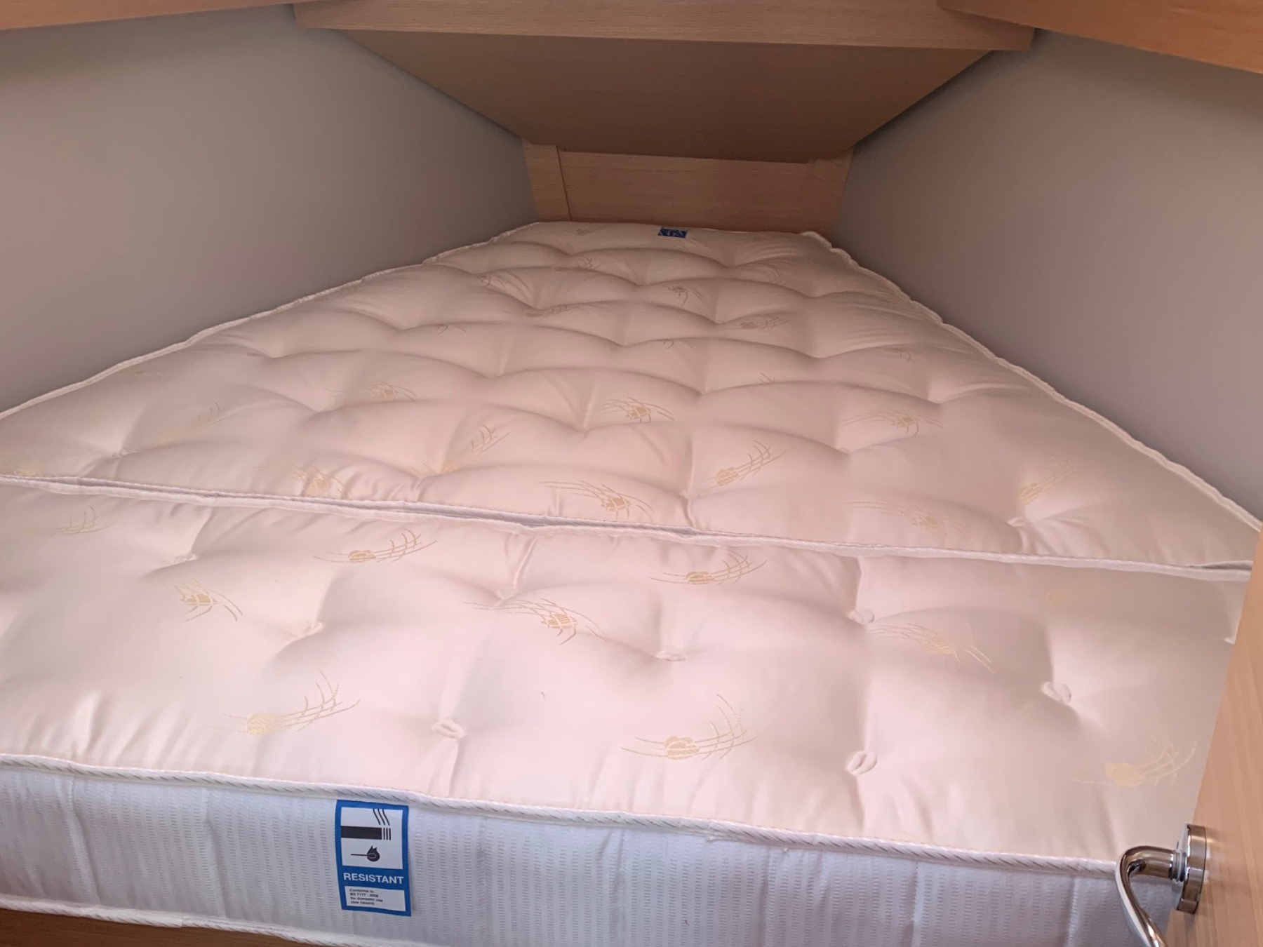 V-Berth Pocket Sprung Mattress