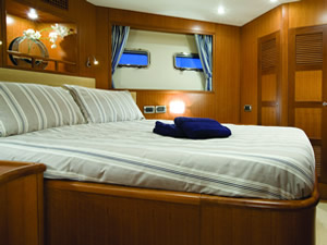 Custom made bedding and soft furnsihings for your boat - click for more information