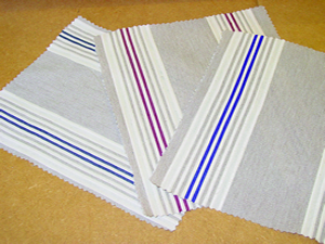View our range of fabrics for your yacht bedding and soft furnishings - click for more information