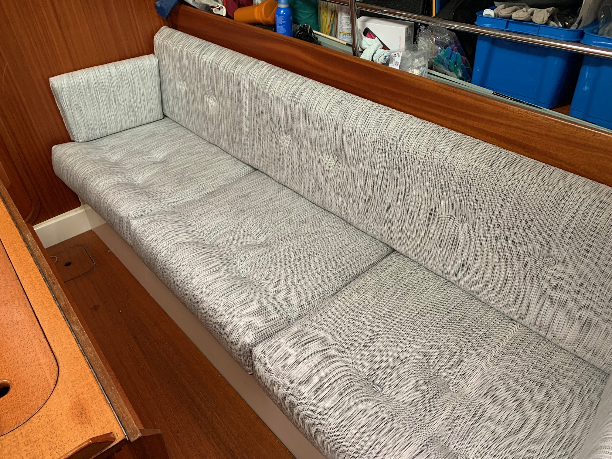 Marine Bedding Boat Upholstery - Saloon Seating 4