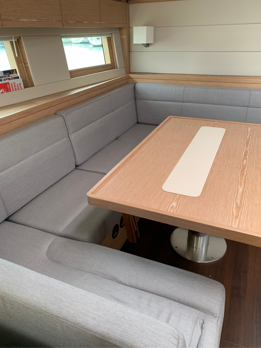 Marine Bedding Boat Upholstery - Saloon Seating 1