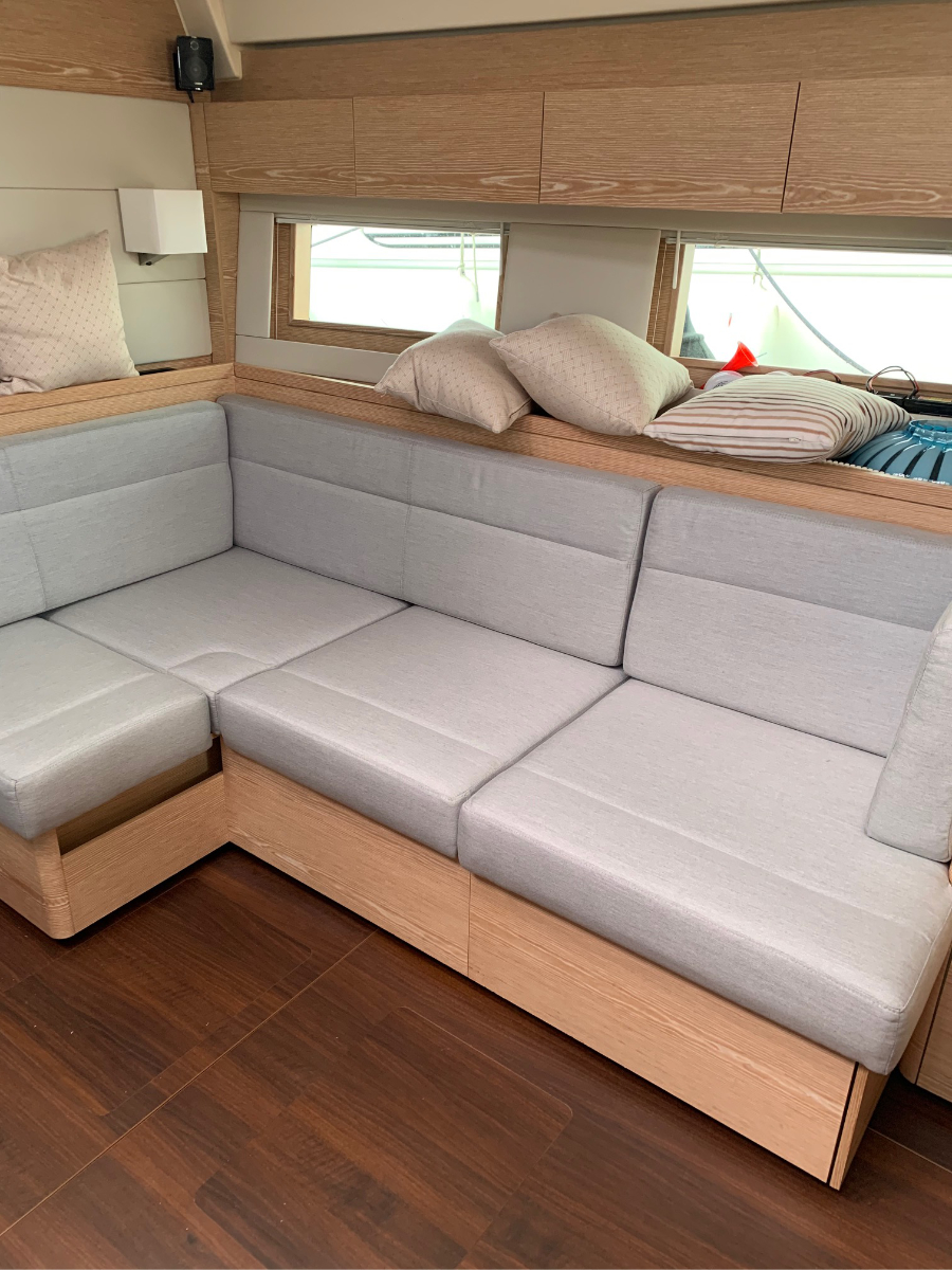 Marine Bedding Boat Upholstery - Saloon Seating 2