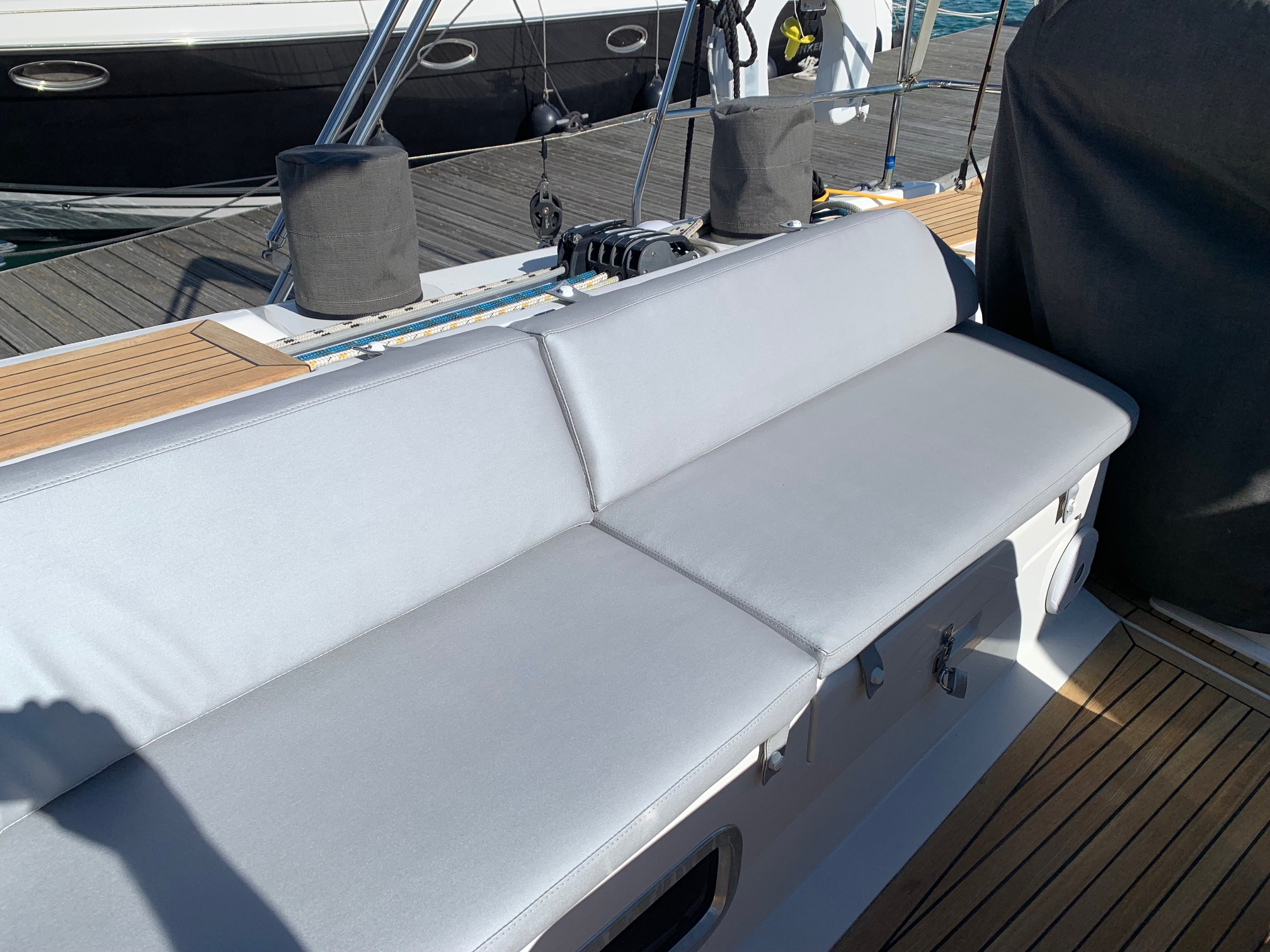 Marine Bedding Boat Upholstery - Cockpit Cushions 1